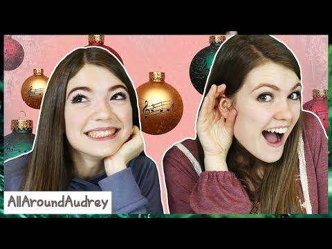 Name That Christmas Song Challenge / AllAroundAudrey
