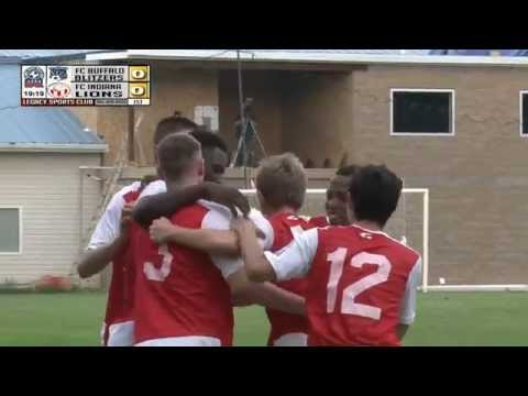 2015 NPSL FC Indiana Lions Highlights vs FC Buffalo