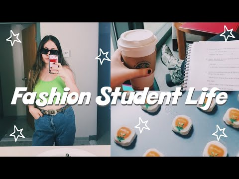 BUSY COLLEGE WEEK IN MY LIFE: fashion merchandising student