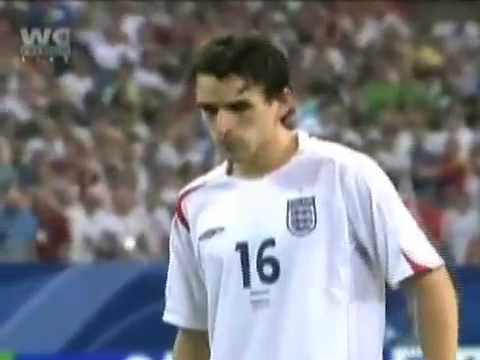 Owen Hargreaves England V Portugal