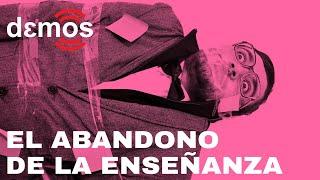 El abandono de la enseñanza  | Demos la palabra a José Sánchez Tortosa