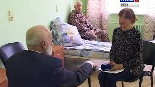 Игорь Васильев посетил областной госпиталь для ветеранов войн(ГТРК Вятка)