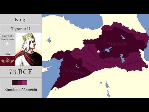 Как менялись границы Армении