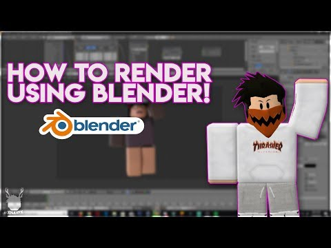 Download How To Render A Roblox Character Blender Works 2019