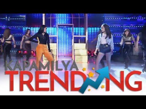 Andrea at Francine nagtarayan sa kanilang It&39;s Showtime performance 💃💃💃