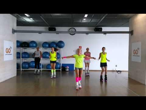 Botas Kangoo Jumps - Calentamiento y bajada de pulsaciones con Raquel Caturla