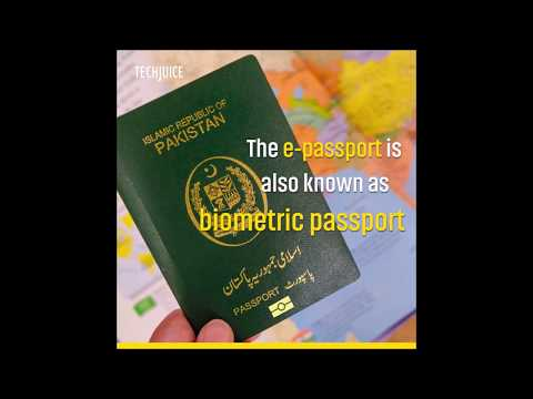 Govt. of Pakistan Announces E-Passport Facility in Pakistan from 2018   Technology in Pakistan