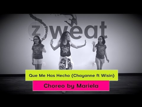 Que Me Has Hecho  Chayanne ft Wisin  Zumba Choreography  Mariela