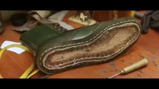 Как создается обувь ручной работы в Antonio Shoes
