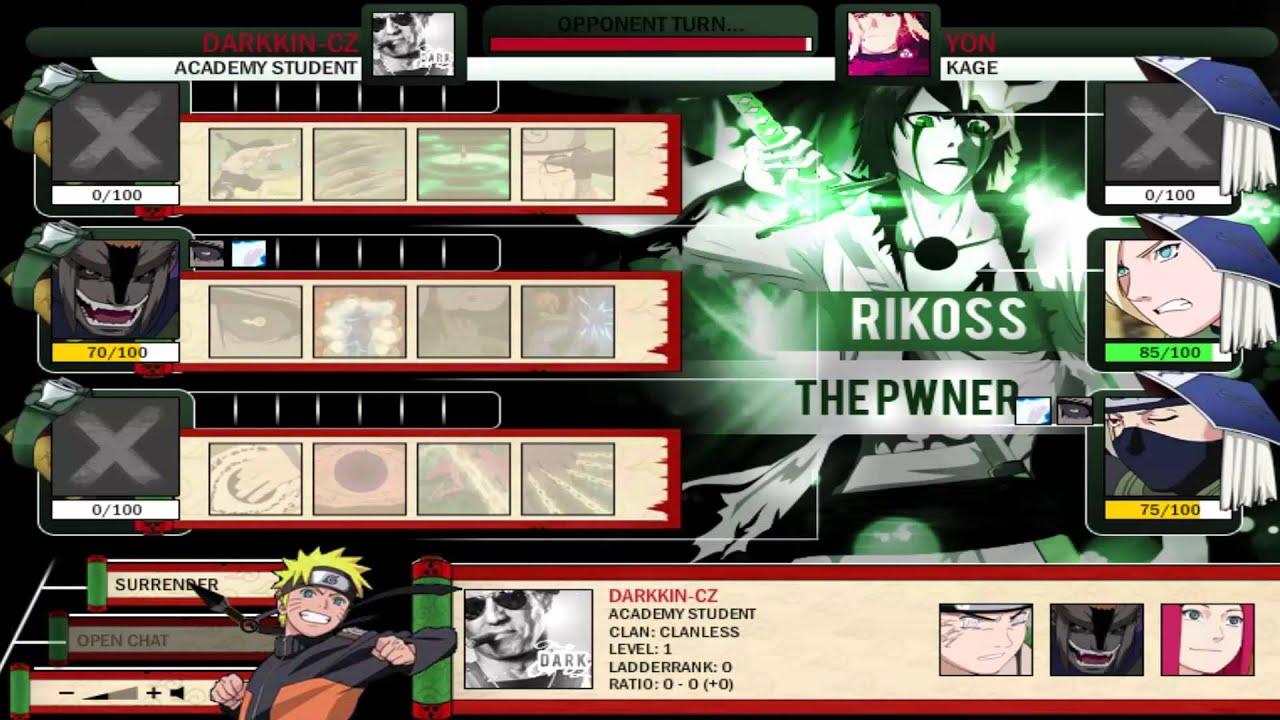 Naruto arena rikoss vs boards youtube - Naruto boards ...
