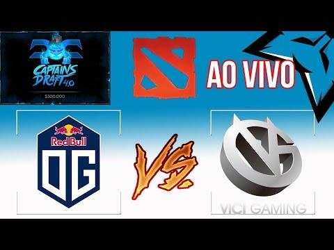 [PT-BR] Vici Gaming (China) vs OG (Europa) - Semi Final - Captains Draft 4.0
