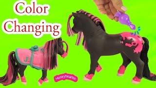 Breyer Color Change Surprise Pony Gals Jasmine Horse - Water Play Toy Video Honeyheartsc