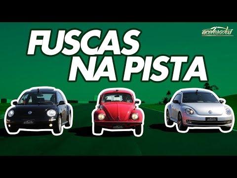 FUSCA ITAMAR X NEW BEETLE X FUSCA TSI - VOLTA RÁPIDA COM RUBENS BARRICHELLO #57 | ACELERADOS