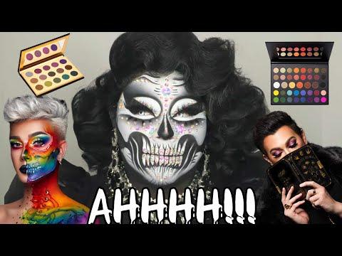 MAKEUP THAT TERRIFIES ME! James Charles, ABH, Manny MUA, Colour Pop! Ahhhhh!! thumbnail