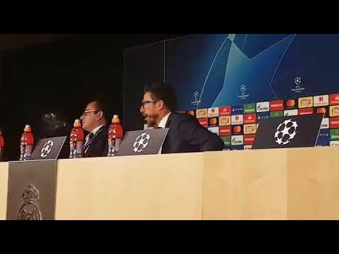 Conferenza Di Francesco post Real Madrid: