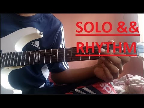 Meet Song Guitar Lesson Chords Solo Simran Arijit Singh