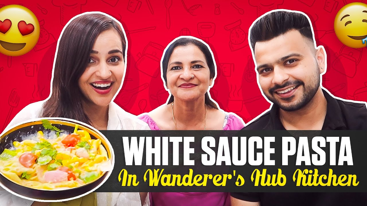 My first cooking in wanderers hub kitchen !! (white sauce pasta)