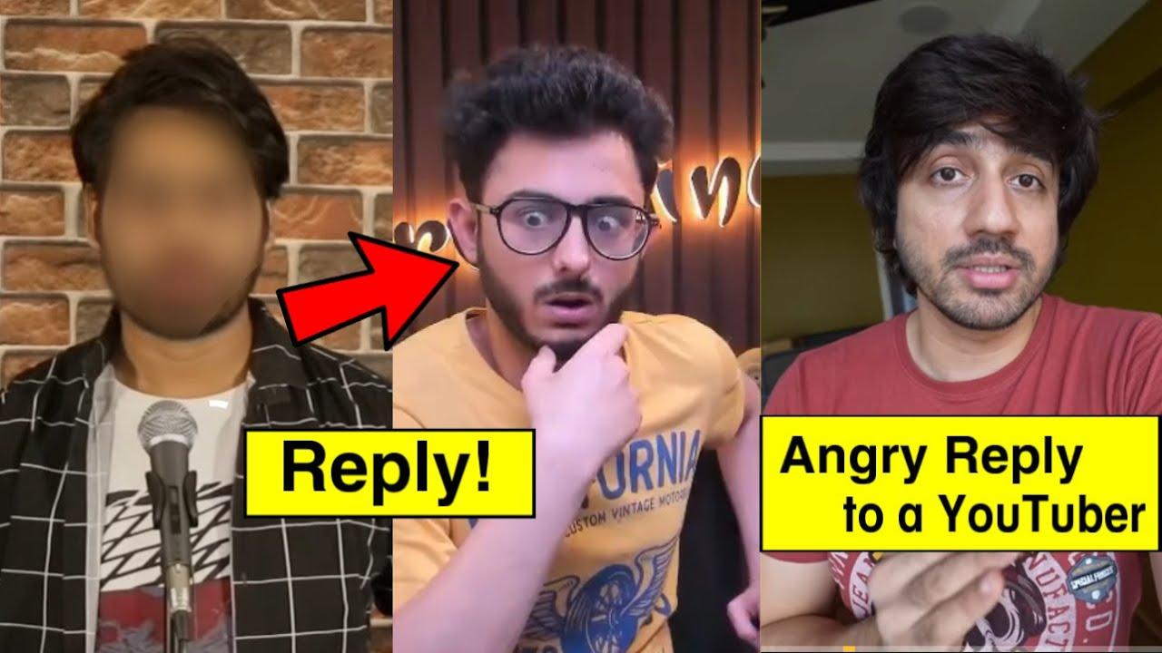 YouTuber Reply to CarryMinati Roast Video!, Mumbiker Nikhil Angry on YouTuber, Harsh Beniwal