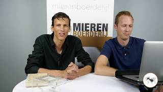 Live stream Q&A Mierenboerderij!!