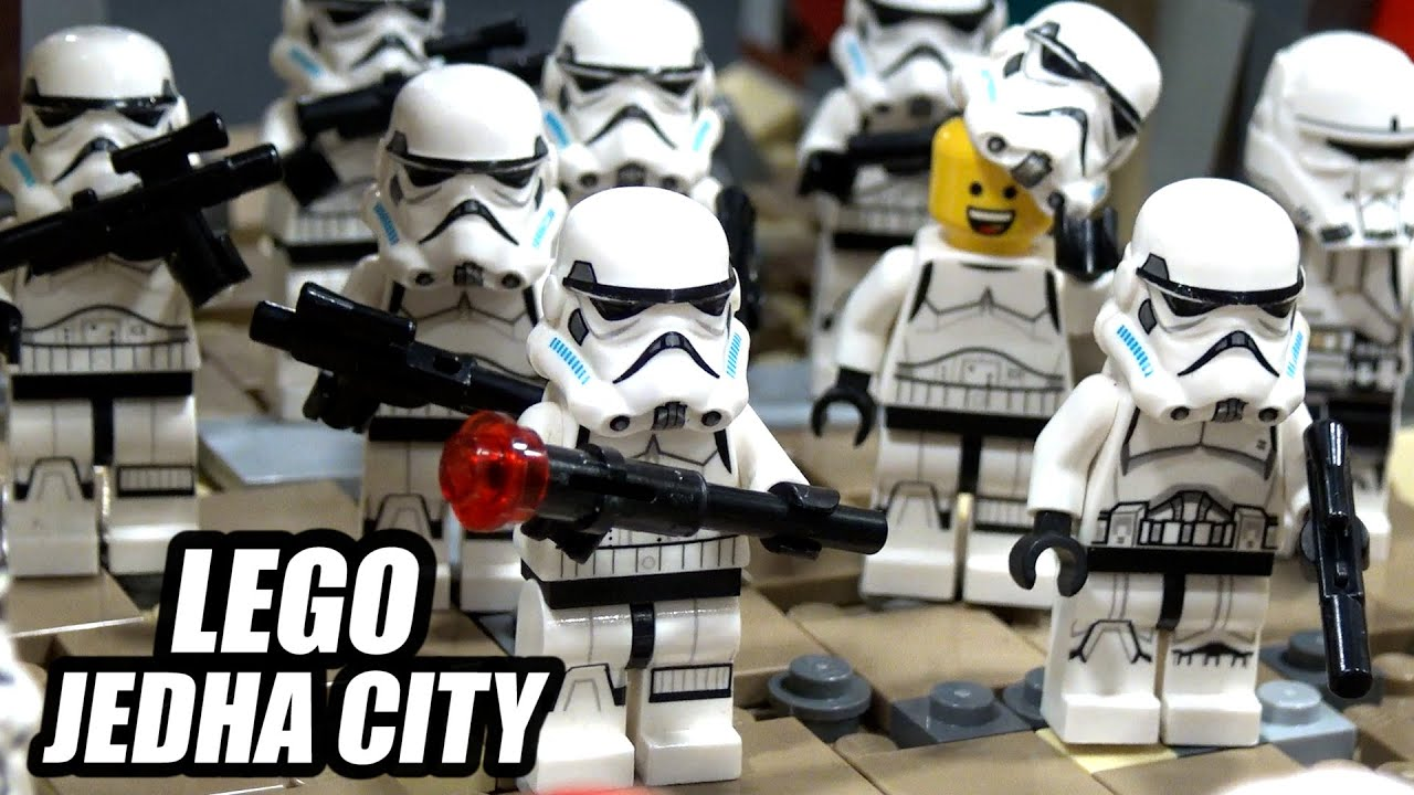 LEGO Occupation of Jedha City from Rogue One: A Star Wars Story