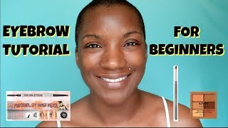 EYEBROW TUTORIAL FOR BEGINNERS | BEAUTY BY KANDI
