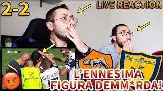 Download Video L'ENNESIMA FIGURA DEMM*RDA!!!! Roma-Chievo Verona 2-2 [LIVE REACTION] MP3 3GP MP4
