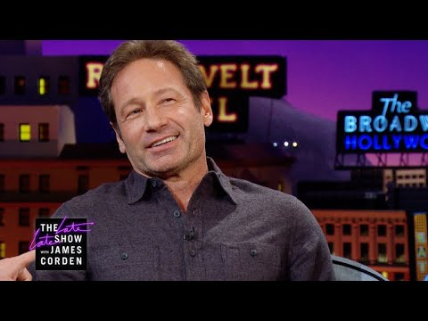 David Duchovny Explained Booty Calls to Prince Charles