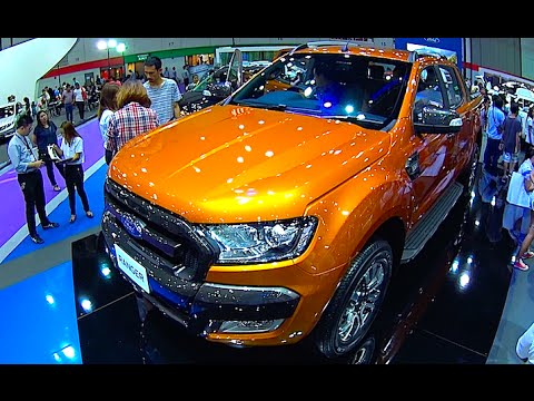 Ford Ranger 2015, 2016, 2017,  Video review, New