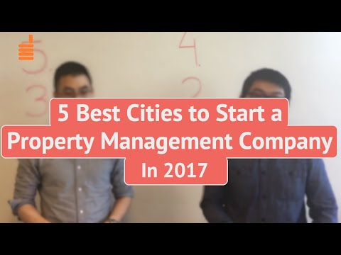 5 Best Cities to Start or Grow a Property Management Company in 2017