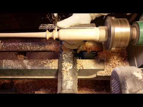Woodturning a wand #6.