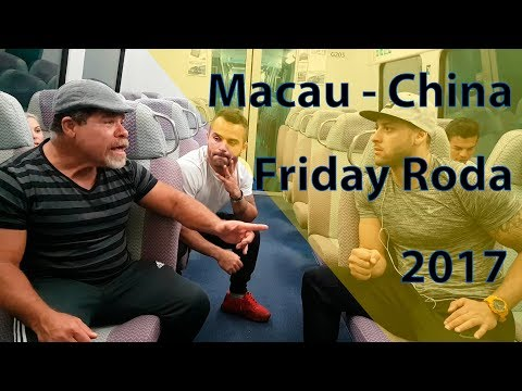Friday Roda   Macau - China   Axé Capoeira (2017)
