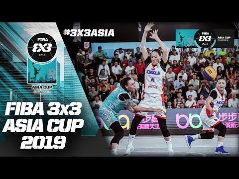 Re-Live – FIBA 3×3 Asia Cup 2019 – Day 4 – Changsha, China