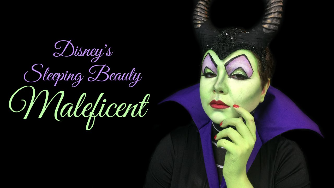 Maleficent make up tutorial disneys sleeping beauty youtube baditri Gallery