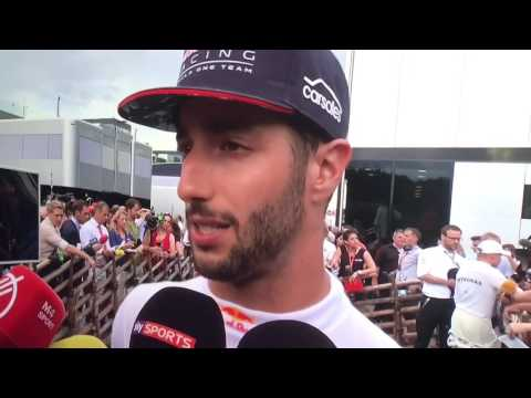 F1 2017 Austrian GP Daniel Ricciardo post race reaction