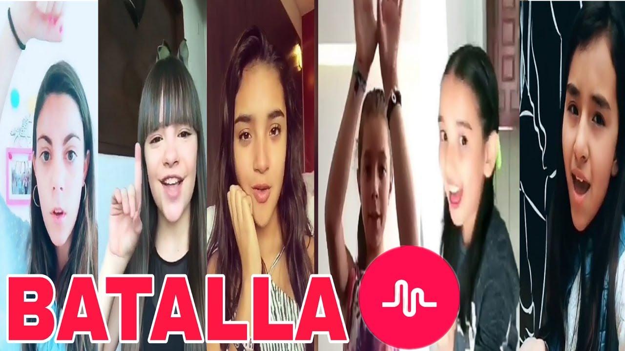BATALLA DE MUSICAL.LYS | NIÑAS YOUTUBERS