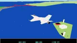 [PC DOS] Jetfighter 2  - Free flight San Francisco