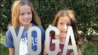 Two Girls Try The Yoga Challenge