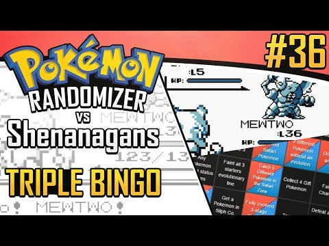 Pokemon Randomizer Triple Bingo vs Shenanagans #36