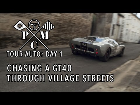 TOUR AUTO DAILY VLOGS: DAY 1 - Chasing down a GT40