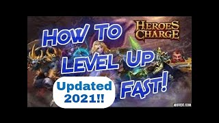 Heroes Charge How to Level Up Fast Updated 2021 screenshot 5