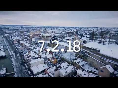 Download Conflans sous la neige - HD 1080P - Parrot Bebop 2