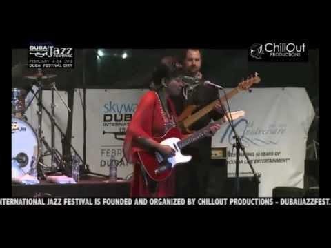 Deborah Coleman Live at the 10th Dubai Int'l Jazz Festival 2012 (Jazz Garden)