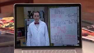 Шелдон Купер в роли Профессора Протона))) (Теория Большого Взрыва)