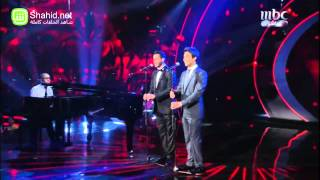 Arab Idol - النتائج - أحمد جمال و زياد خوري