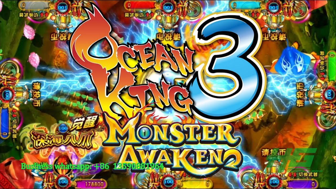 How to win ocean monster plus ocean king 3 fishing game for Crab fishing game