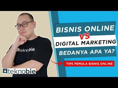 Bisnis Online vs Digital Marketing Bedanya Apa Yah? | Tips Pemula Bisnis Online