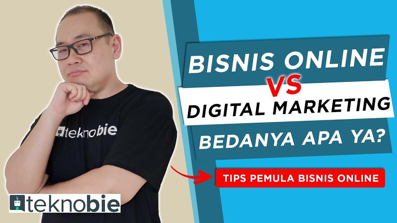 Bisnis Online vs Digital Marketing Bedanya Apa Yah? | Tips ...