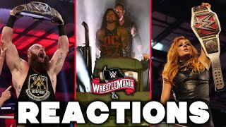 WWE WrestleMania 36: Night 1 Reactions