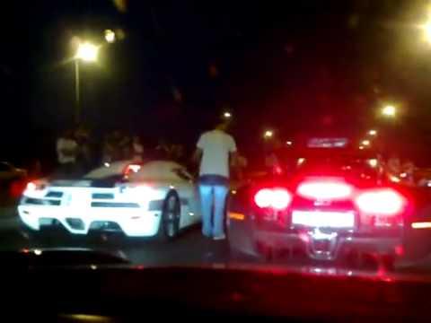 Koenigsegg CCXR vs Bugatti Veyron