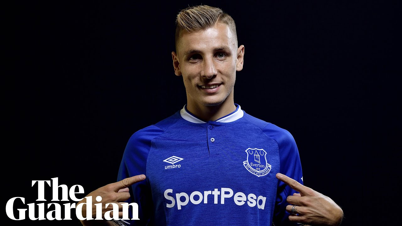 I M Not Scared I M Excited Lucas Digne Joins Everton From Barcelona Youtube